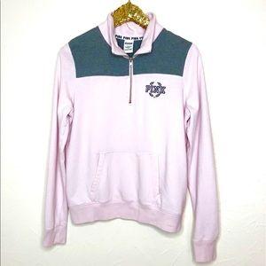 PINK Victoria's Secret Half ZIP Pullover